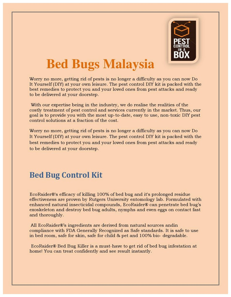 Best Diy Bed Bug Killer